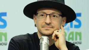 "Chester Bennington in der ""The Elvis Duran Z100 Morning Show"" in New York"