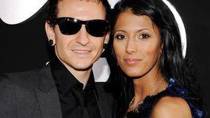 Chester Bennington und Talinda Ann bei den Grammys
