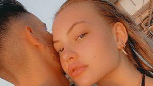 Superselten: Cheyenne Ochsenknecht kuschelt mit ihrem Freund