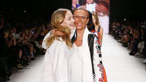 Cheyenne und Natascha Ochsenknecht bei der Fashion Week 2017