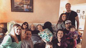 Bei Familienfeier von Jeremy Meeks: Baby-News verkündet?