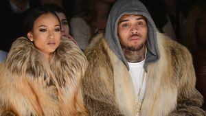 Chris Brown und Karrueche Tran 2015 auf der Fashion Week in New York