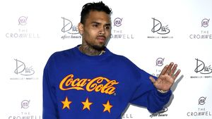 Chris Brown vor Club in Las Vegas