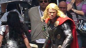 """Chris Hemsworth: Die ersten Set-Fotos von """"Thor 2"""""""