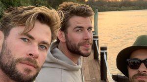 Mit Chris und Co.: Liam Hemsworth entspannt nach Trennung
