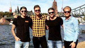 Ohne Nadine: Rosen-Boys Chris, Alex und Co. feiern Reunion