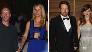 Chris Martin & Gwyneth Paltrow, Ben Affleck & Jennifer Garner, Sky und Mirja du Mont