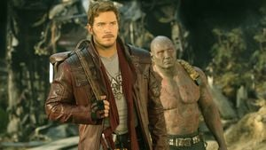 "Chris Pratt und Dave Bautista in ""Guardians of the Galaxy Vol. 2"""