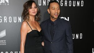 """Chrissy Teigen und John Legend bei der Premiere der Serie """"Underground"""""""