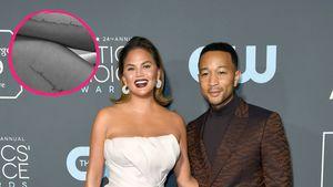 Süß: John Legend und Chrissy Teigen haben Familien-Tattoos