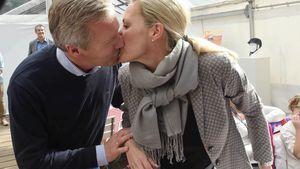 Öffentliche Küsse: Christian & Bettina Wulff wieder vereint