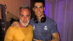 Gianluca Vacchi und Cristiano Ronaldo