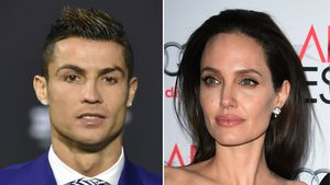 Cristiano Ronaldo und Angelina Jolie