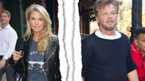Christie Brinkley und John Mellencamp am Greenwich Hotel in New York