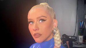 Heiß! Christina Aguilera grüßt ihre Fans in hautengem Latex