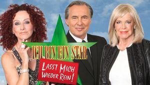 Ingrid van Bergen, Peter Bond und Christina Lugner