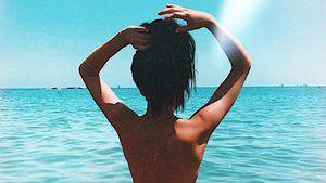 Oben ohne im Meer: GNTM-Christina Peno schickt heißes Pic!