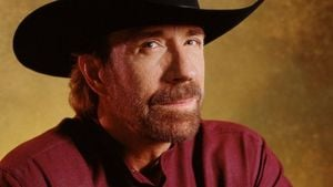 Chuck Norris braucht keine Brücke, er ist eine!