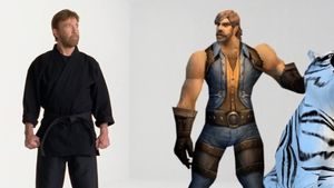 Chuck Norris wirbt in World of Warcraft-Werbespot