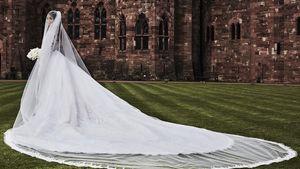 Ciara an ihrem Hochzeitstag