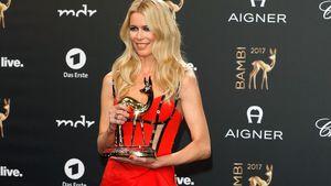 Red-Carpet-Comeback: Claudia Schiffer überstrahlt alle!