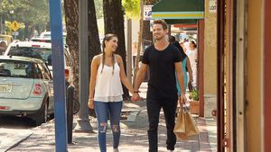 Clea-Lacy Juhn und Sebastian Pannek beim Shopping-Date