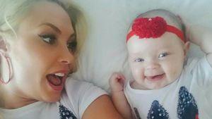 Schluss mit Puppen-Wahnsinn: Coco Austins Tochter ist echt!