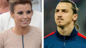 Ausgerechnet am Ball: Rooneys Frau schlägt Ibrahimovic!