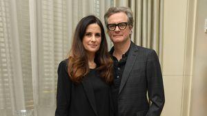 Nach Stalker-Affäre: Colin Firth wieder vereint mit Ehefrau