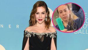 Nach Corona-Erkrankung: Alyssa Milano verliert ihre Haare