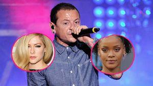 Avril Lavigne, Chester Bennington und Rihanna