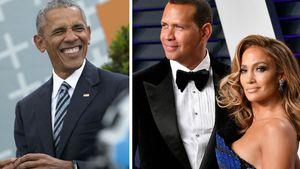 Große Ehre: Obama gratulierte J.Lo & A-Rod zur Verlobung!