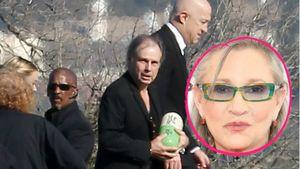 Carrie Fishers Beerdigung