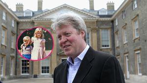 Selten: Prinzessin Dianas Bruder teilt Kinder-Pic mit ihr