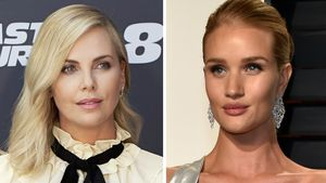 Charlize Theron und Rosie Huntington-Whiteley