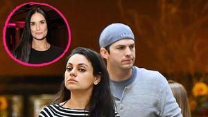 Nach Demi Moores Enthüllungen: Ashton und Mila reagieren!