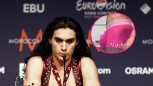 XXL-Beule: Måneskin-Schlagzeuger Ethan posiert in Unterhose