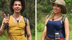 Florian Wess und Sarah Joelle Jahnel im Dschungelcamp