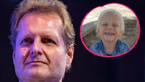 Sein Lachen schenkt Trost: Jens Büchners Sohn Diego strahlt