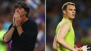 DFB-Bundestrainer Joachim Löw & Torwart Manuel Neuer