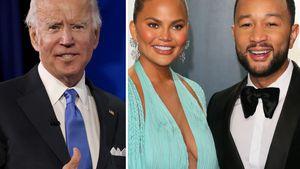 Zu Bidens Amtsantritt: Chrissy spoilert John-Legend-Auftritt