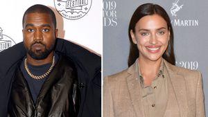 Kanye West will es mit Irina Shayk langsam angehen lassen