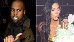 Hat Kanye West etwa Kims Geburtstagsfeier verpasst?