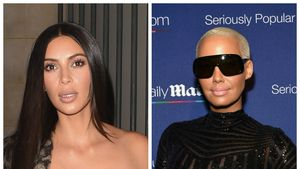 Kim Kardashian und Amber Rose (v.l.n.r.)