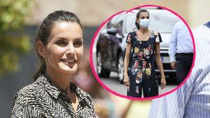Eleganter Look: Königin Letizia recycelt diesen Jumpsuit