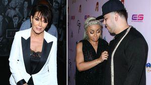Kris Jenner, Blac Chyna und Rob Kardashian