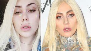 Wie Selena Gomez: Auch Lady Gaga hat eine Doppelgängerin!