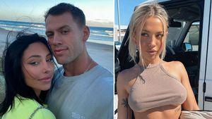 Reece Hawkins' schwangere Verlobte war Fan seiner Ex Tammy