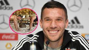 """""""Power Couple"""": Lukas und Monika Podolski sporteln zusammen"""