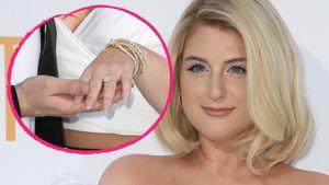 Stolz auf Red Carpet: Meghan Trainor zeigt Verlobungs-Ring